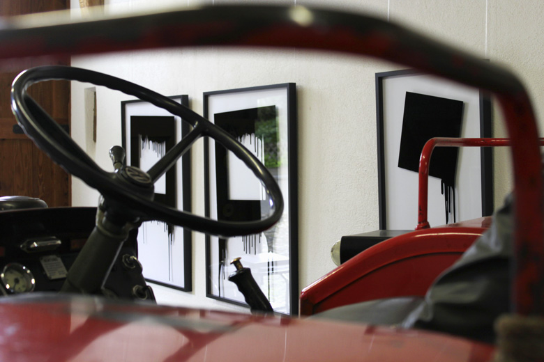 Tractors and artwork